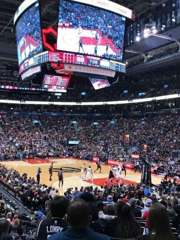 Scotiabank Arena, secção: 104, fila: 16, lugar: 16