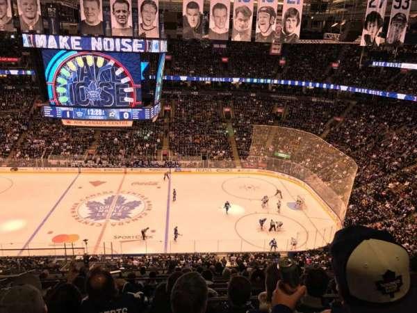 Scotiabank Arena, secção: 308, fila: 12, lugar: 22