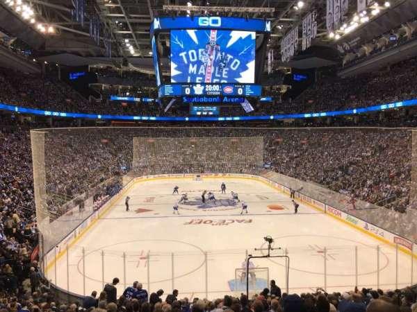 Scotiabank Arena, secção: 114, fila: 23, lugar: 5