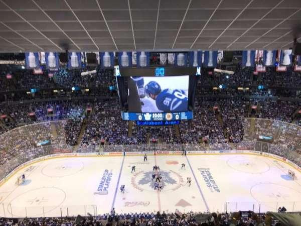 Scotiabank Arena, secção: 321, fila: 14, lugar: 17