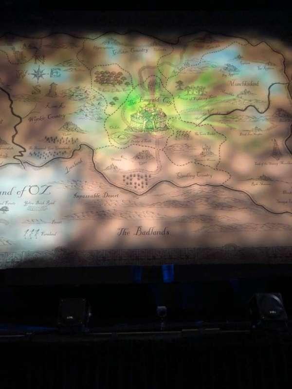 Apollo Victoria Theatre, secção: Stalls, fila: A, lugar: 25