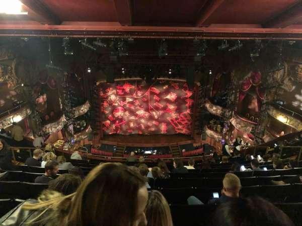 Lyceum Theatre (West End), secção: Grand Circle, fila: STD, lugar: 17