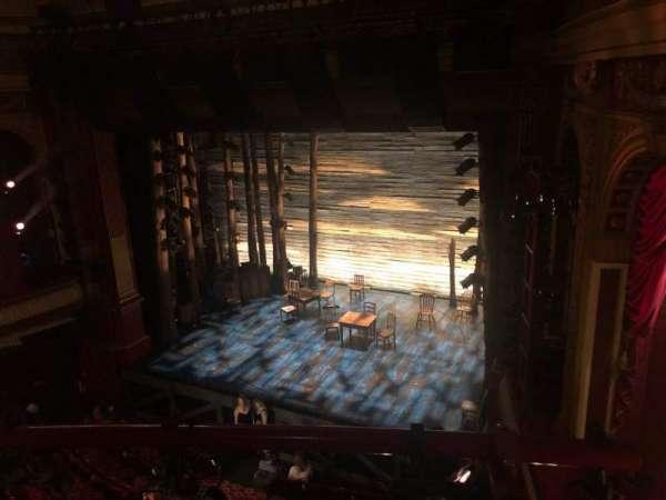 Phoenix Theatre, secção: Grand Circle, fila: A, lugar: 3