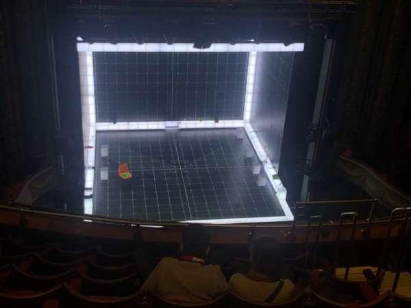 Piccadilly Theatre, secção: Grand Circle, fila: H, lugar: 19