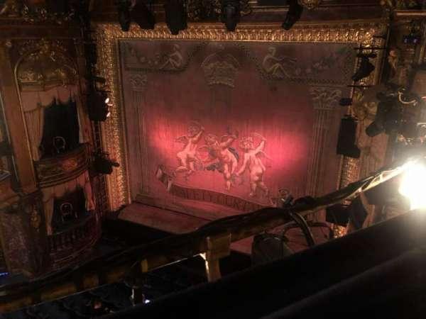 Theatre Royal Haymarket, secção: Upper Circle, fila: A, lugar: 10
