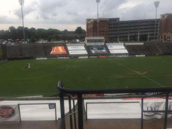 American Legion Memorial Stadium, secção: 11, fila: GG, lugar: 2