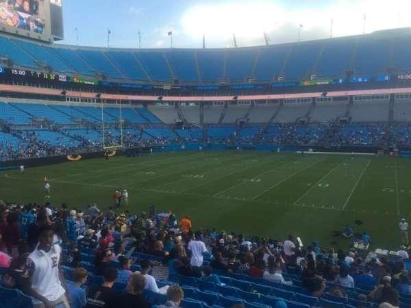Bank of America Stadium, secção: 111, lugar: 20