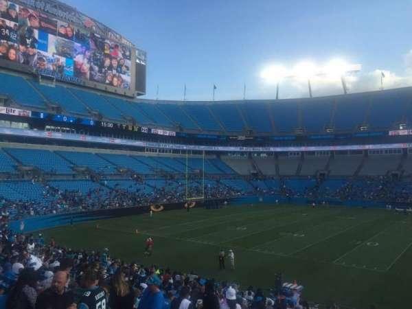 Bank of America Stadium, secção: 112, fila: 21, lugar: 19