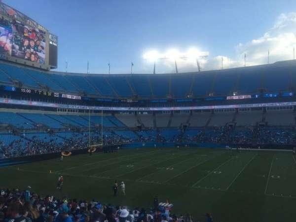 Bank of America Stadium, secção: 112, fila: 20, lugar: 17