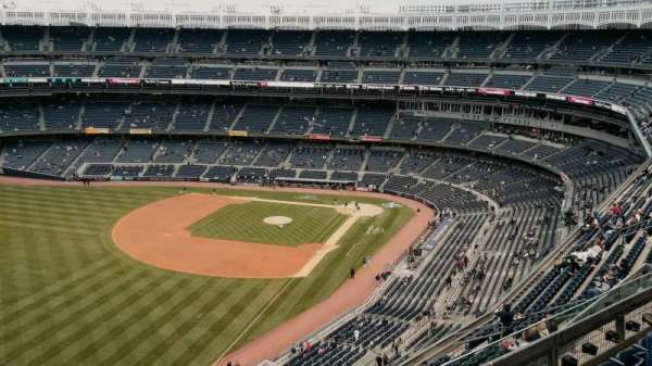 Yankee Stadium, secção: 431b, fila: 6, lugar: 12