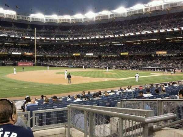 Yankee Stadium, secção: 127b, fila: 16, lugar: 3