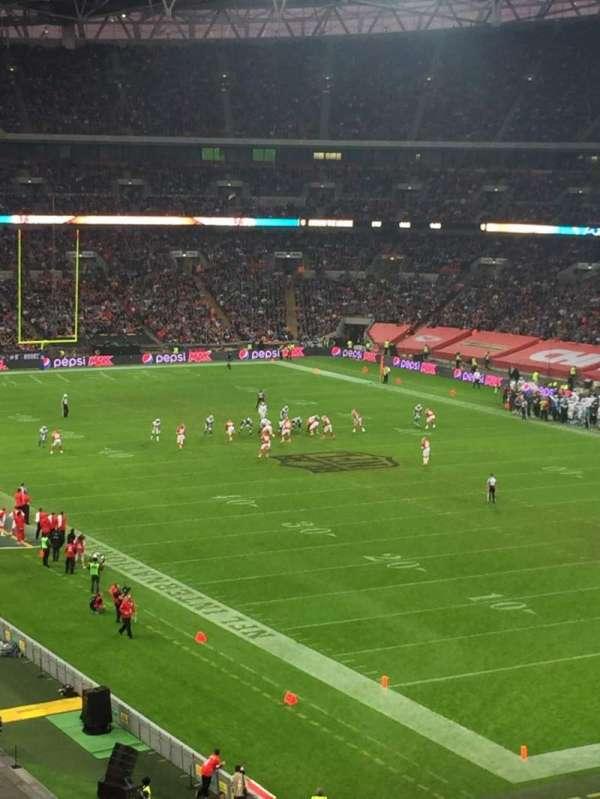 Wembley Stadium, secção: 244, fila: 16, lugar: 178