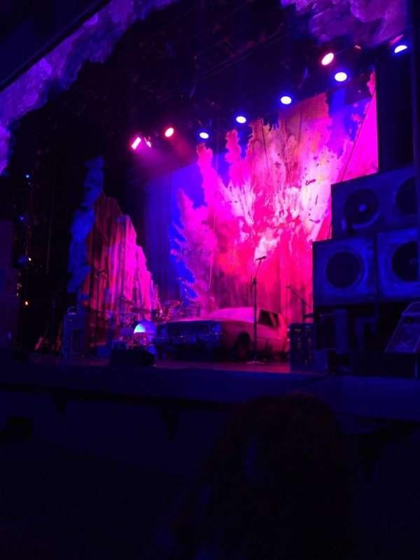 Hollywood Pantages Theatre, secção: Orchestra RC, fila: B, lugar: 206