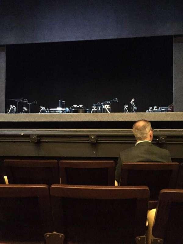 Hudson Theatre, secção: Orchestra C, fila: D, lugar: 112