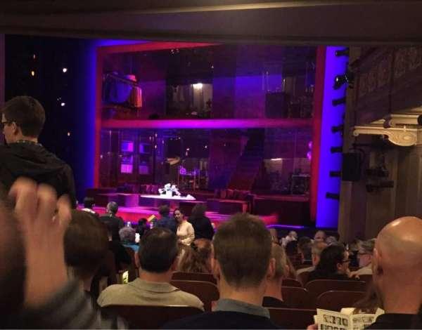 Booth Theatre, secção: Orchestra R, fila: N, lugar: 6