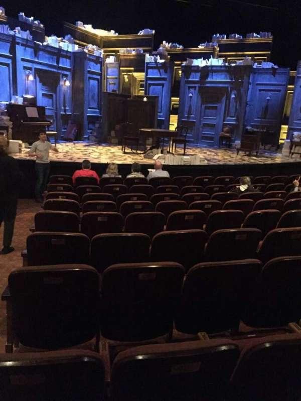 American Airlines Theatre, secção: Center orchestra, fila: K, lugar: 116