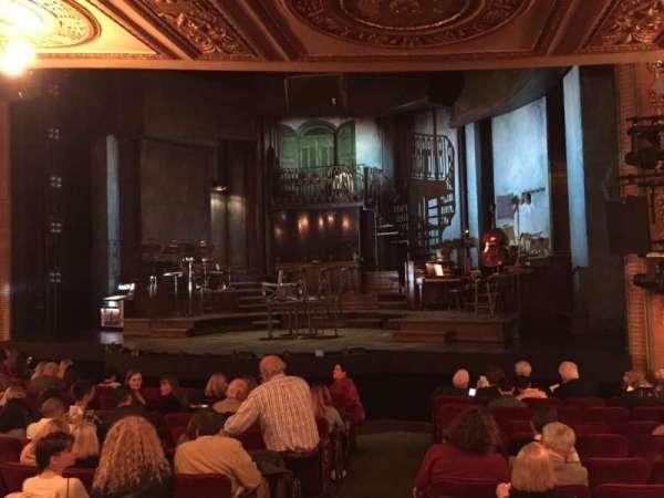 Walter Kerr Theatre, secção: Orchestra R, fila: O, lugar: 8