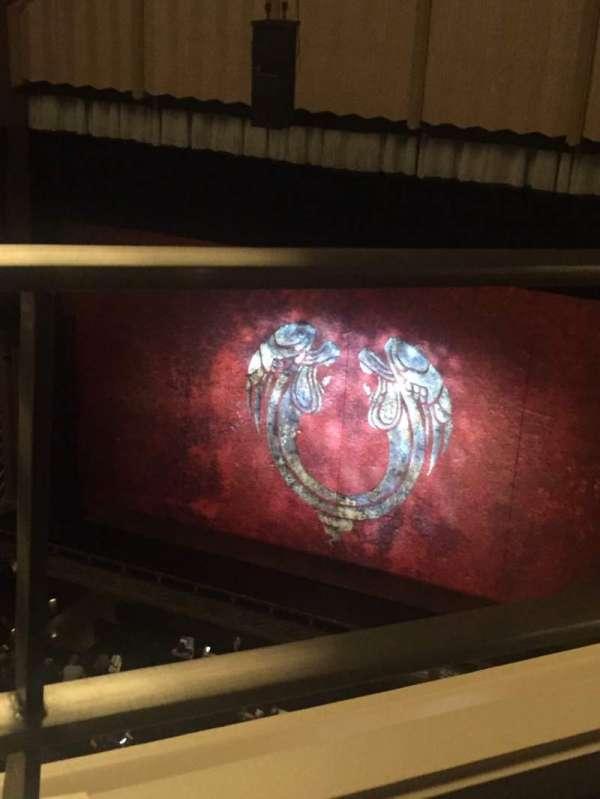 Reynolds Hall at The Smith Center, secção: Balcony, fila: A, lugar: 242