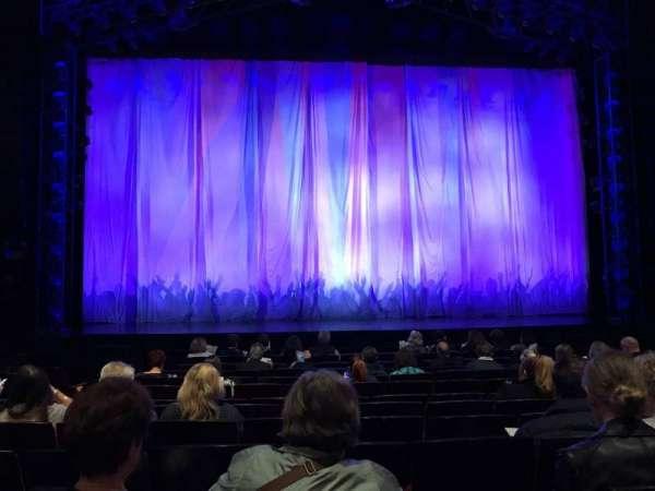 Marquis Theatre, secção: Orchestra C, fila: K, lugar: 108