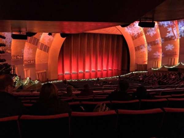 Radio City Music Hall, secção: 1st Mezzanine 7, fila: G, lugar: 709