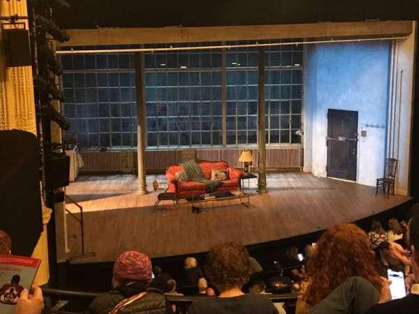 Hudson Theatre, secção: Dress Circle L, fila: E, lugar: 11