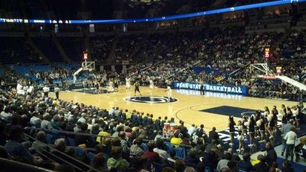 Bryce Jordan Center, secção: 102, fila: D, lugar: 107
