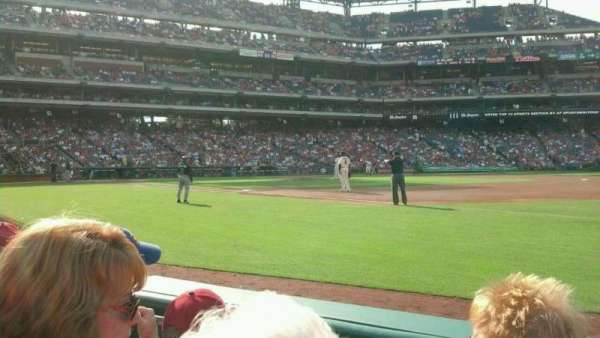 Citizens Bank Park, secção: 112, fila: 3, lugar: 12