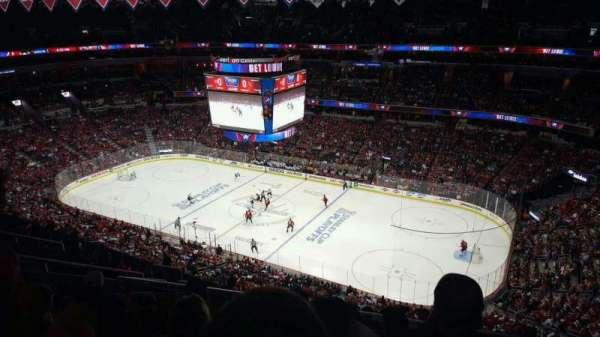 Capital One Arena, secção: 420, fila: K, lugar: 10
