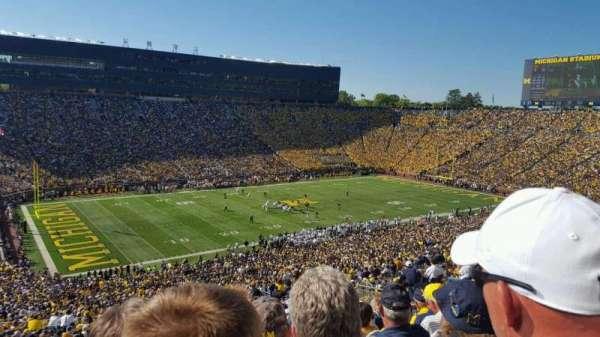 Michigan Stadium, secção: 5, fila: 86, lugar: 3