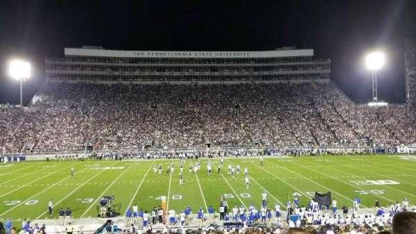 Beaver Stadium, secção: WF, fila: 21, lugar: 31