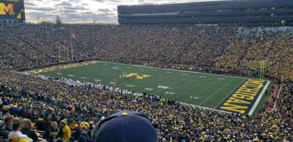 Michigan Stadium, secção: 40, fila: 89, lugar: 2