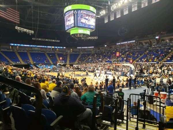 Bryce Jordan Center, secção: 101, fila: AA, lugar: 109