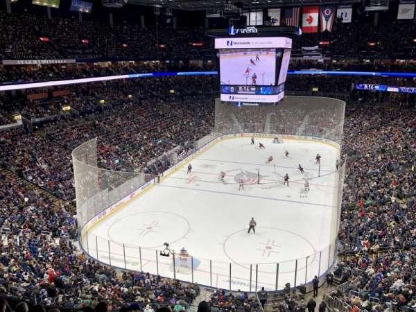 Nationwide Arena, secção: 223, fila: H, lugar: 5