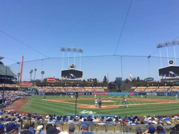 Dodger Stadium, secção: 2FD, fila: K, lugar: 11