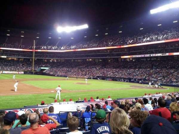 Turner Field, secção: 114, fila: 14, lugar: 104