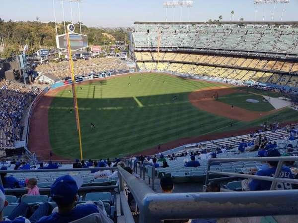 Dodger Stadium, secção: 45RS, fila: EE, lugar: 14