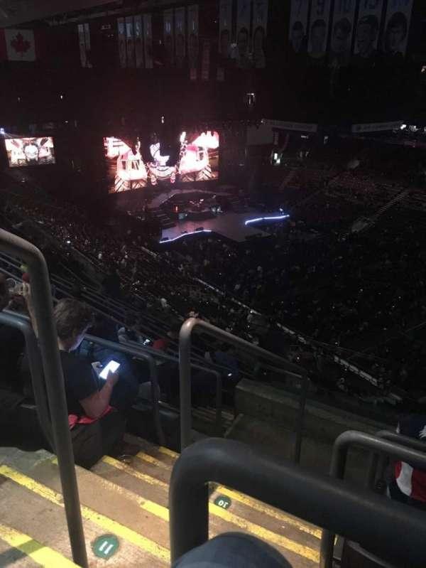 Scotiabank Arena, secção: 306, fila: 12, lugar: 24