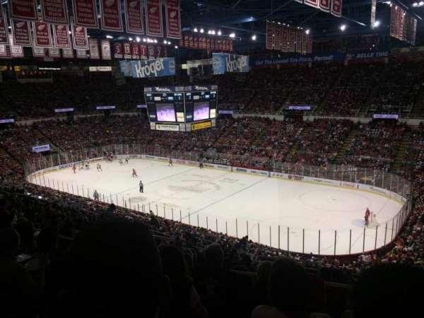 Joe Louis Arena, secção: 204a, fila: 17, lugar: 9