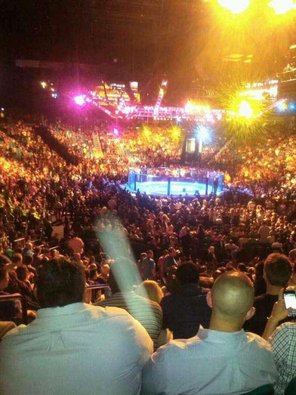 MGM Grand Garden Arena, secção: 3, fila: V, lugar: 15