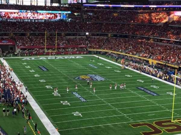 AT&T Stadium, secção: 327, fila: 16, lugar: 10