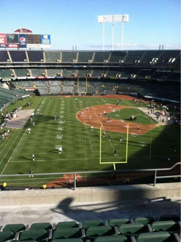 Oakland Coliseum, secção: 229, fila: 6, lugar: 16