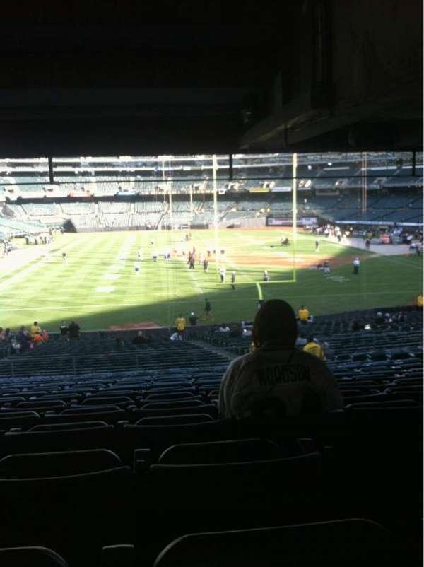 Oakland Coliseum, secção: 228, fila: 10 , lugar: 12