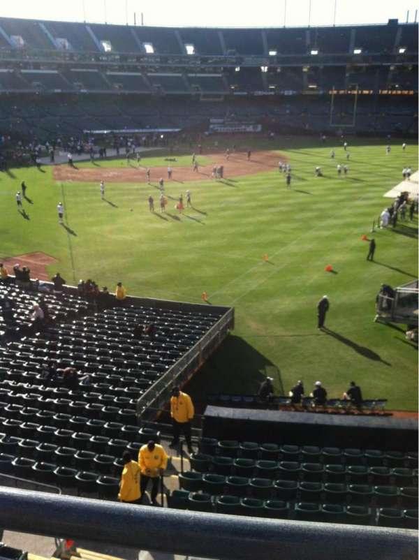 Oakland Coliseum, secção: 202, fila: 11, lugar: 4