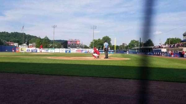 BB&T Ballpark at Historic Bowman Field, secção: J, fila: A, lugar: 5