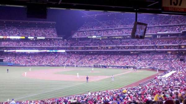 Citizens Bank Park, secção: 137, fila: 40, lugar: 18