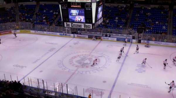 Mohegan Sun Arena at Casey Plaza, secção: 326, fila: 3, lugar: 3