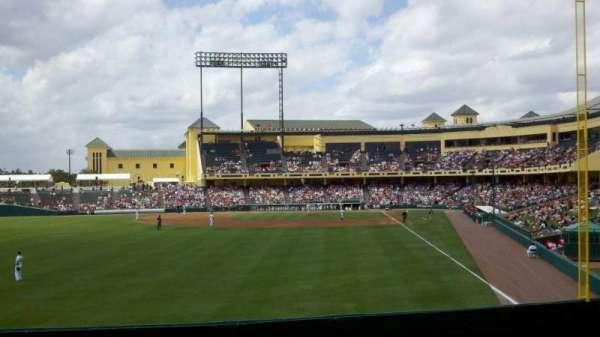 Champion Stadium, secção: lawn