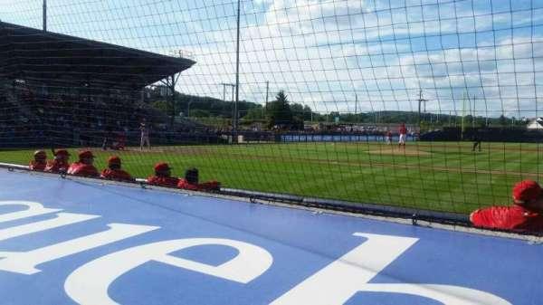 BB&T Ballpark at Historic Bowman Field, secção: s, fila: f, lugar: 5