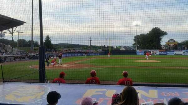 BB&T Ballpark at Historic Bowman Field, secção: d, fila: i, lugar: 3