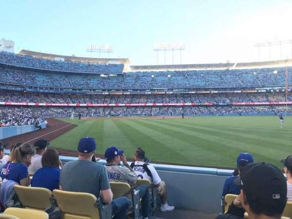 Dodger Stadium, secção: 52FD, fila: E, lugar: 1